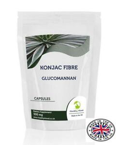 Konjac-Fibre-500mg-Glucomannan-x-250-Capsules-UK-Nutrition
