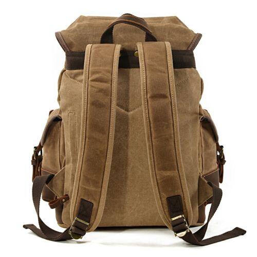 Backpack Vintage Canvas bag Craftride RG8 for leisure 20L brown