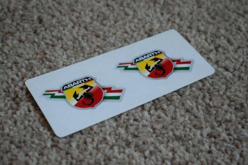 Fiat Abarth Scorpion logo voiture moto Racing Decal sticker Italie thème 50 mm