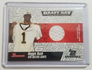2006-Bowman-Draft-Day-Selection-Reggie-Bush-Rookie-Jersey