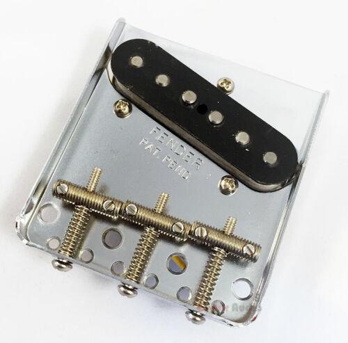 Genuine Fender /'62 Reissue Custom Telecaster Tele Bridge /& Pickup Assembly Set