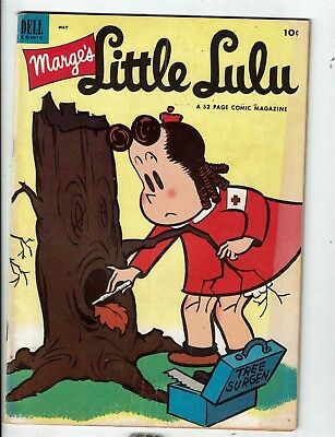 Comics Marge's Little Lulu # 59 Fn Dell Comic Book Tree Surgeon 1953 Golden Age Jl1 Latest Technology