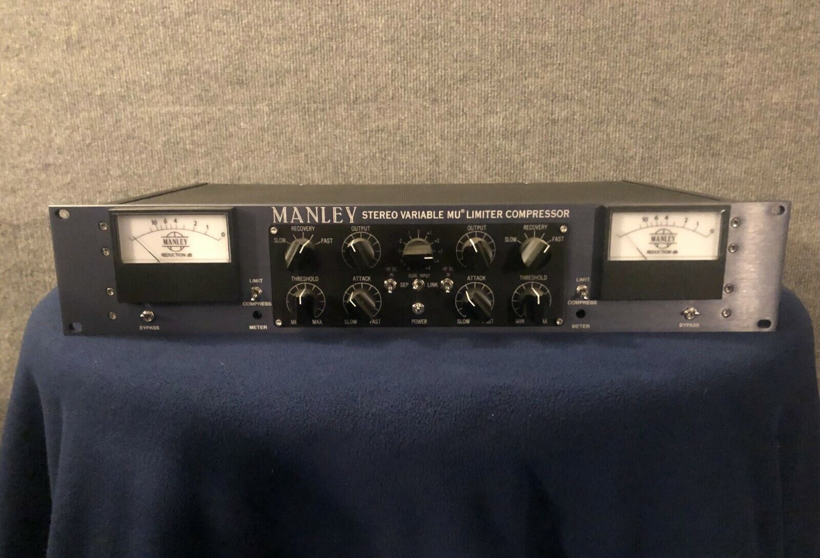 Manley Stereo Variable Mu Limiter Compressor - Used - Very Good Condition. Buy it now for 3700.00