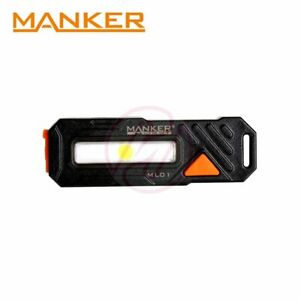 MANKER-ML01-COB-Red-Blue-LED-Keychain-Pocket-Clip-Bike-Tail-Light-Flashlight