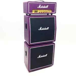 MARSHALL JIMI HENDRIX PURPLE HAZE MINI GUITAR 1/6 FIGURE MODEL AMPLIFIER AMP