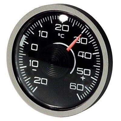 Original 1976 Thermometer Bimetall selbstklebend justierbar RICHTER Art 3510