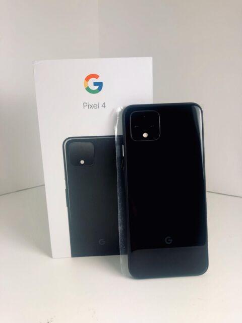 Google Pixel 4 64GB - Factory Unlocked - Just Black