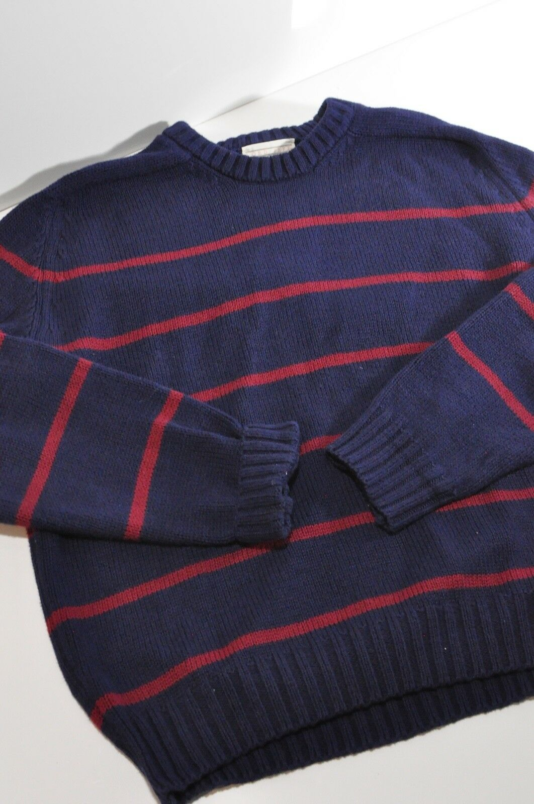 Vintage Lord Jeff 100% fine Cotton sweater Mens XL made in USA