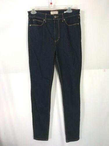 silicone Jeans blu 1981 risciacquo a scuro Size 30 in Stretch vita aderenti Guess con alta wtH1PxqOnC