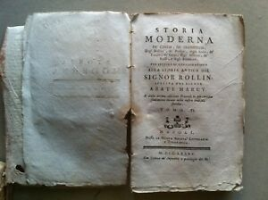 1785-STORIA-MODERNA-ROLLIN-MARCY-VOL-6-MALDIVE-INDOSTAN-CEYLON-FAKIRI-BRAMINI