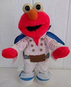 Details about Elvis Elmo Sesame Street The Legend Singing Dancing Plush  Stuffed Mattel 93473