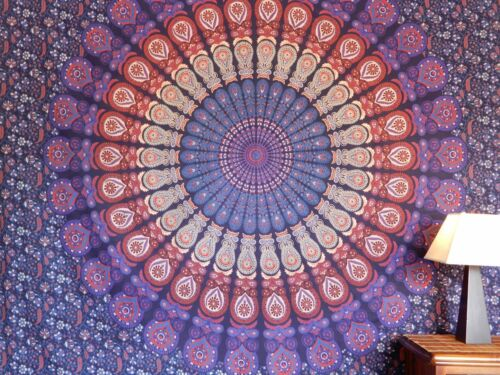 Mandala Wall Hanging Blue & Purple