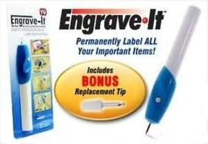 Engrave It Pen - Portable Handheld Engraver