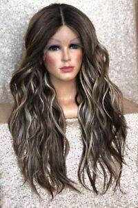 Braun blonde strähnchen