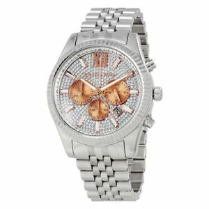 cd9275c012bf Men s Michael Kors Lexington Crystallized Watch MK8515 for sale ...