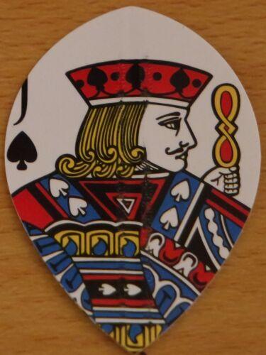Playing Cards Poly Metronic Pear Shaped Hard Dart Flights 5X3 5 Sets