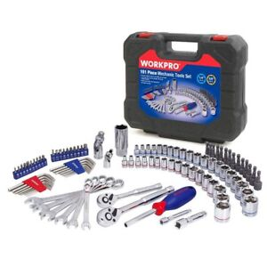 Set-of-Home-Tools-For-Car-Repair-Sockets-Set-Ratchet-Spanners-Wrench-101PC