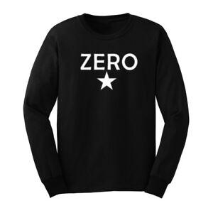 Mens-THE-SMASHING-PUMPKINS-Rock-Vintage-ZERO-Long-Sleeve-T-Shirts-Casual-Men-Tee