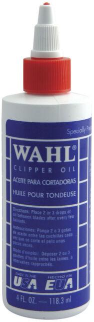 WAHL CLIPPER OIL 118ML (4 FL OZ)