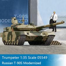 Trumpeter 05549 1/35 Russian T-90S Modernized Military Model Main Battle Tank
