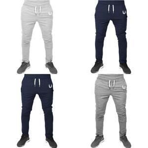 Gym-Joggers-Sweatpants-Trousers-Sport-Men-039-s-Pants-Long-Tracksuit-Fitness-Workout
