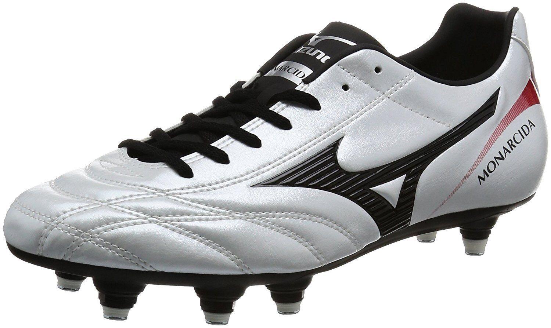 MIZUNO Soccer Spike Schuhes MONARCIDA 2 FS SI P1GC1723 Super Weiß US11(29cm)
