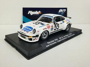 Slot-car-Scalextric-Fly-Flyslot-Ref-044102-Porsche-934-55-24h-Le-Mans-1977