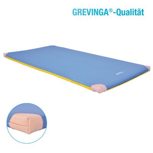 Grevinga® Turnmatte Super-Soft RG22 mit Wunschnamen und Lederecken