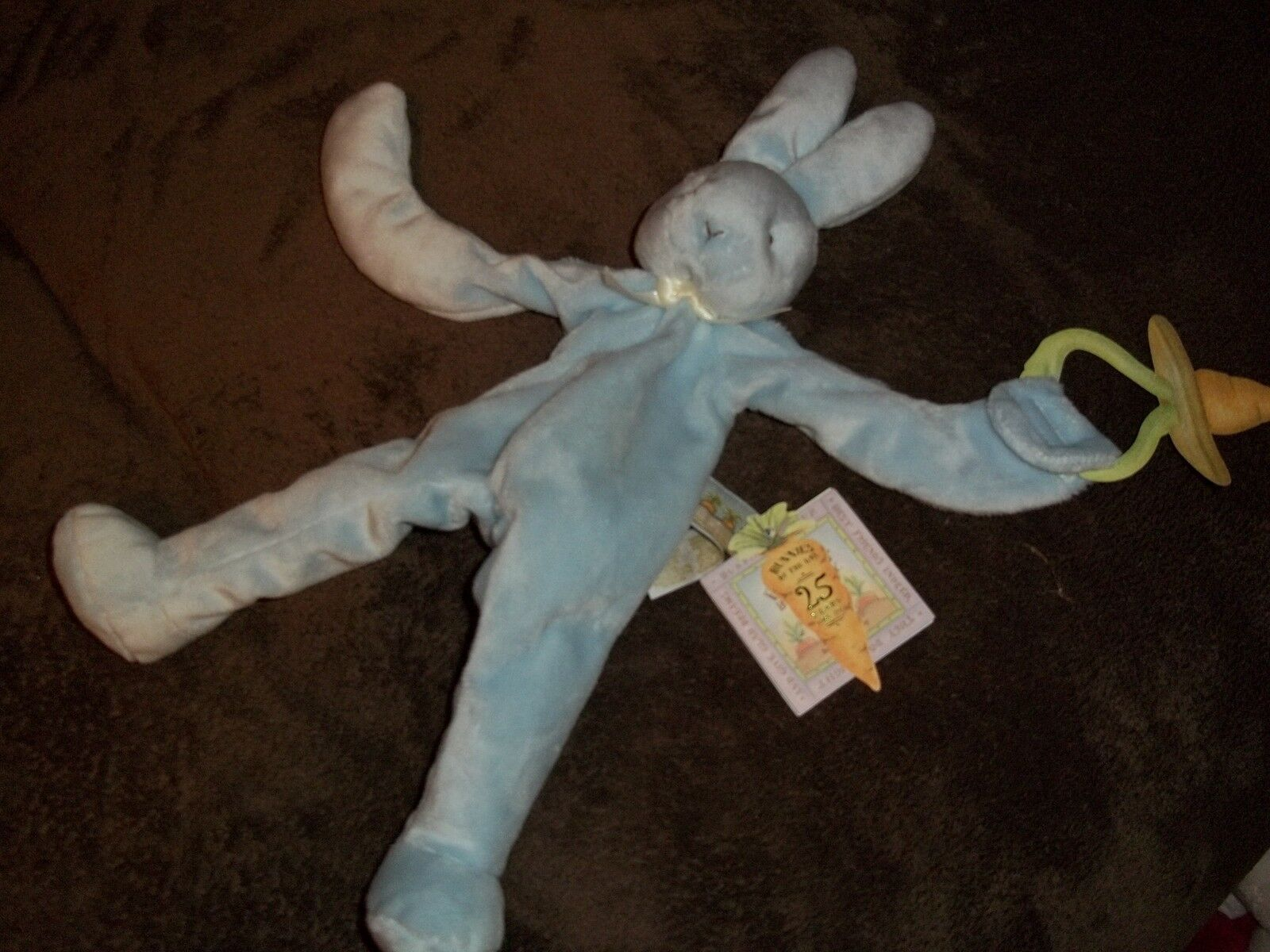 BUNNIES BY THE BAY  blueE BUNNY COMFORTER BRAND NEW