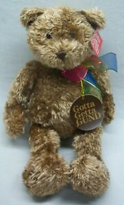 GUND-BEARESSENCE-TEDDY-BEAR-15-034-Plush-STUFFED-ANIMAL-Toy-NEW