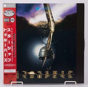 04472-F-S-by-AIR-Mint-Laserdisc-STARSHIP-TROOPERS-Paul-Verhoven-PILF-2657-OBI