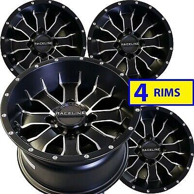 "14/"" 14x7 14x8 4//110 ATV Rims Wheels fits some Yamaha Grizzly 350-600 4x4 SRA"