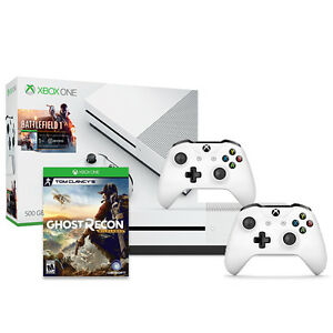 Xbox One S Battlefield 500GB + Xbox Wireless Controller + Ghost Recon Wildlands