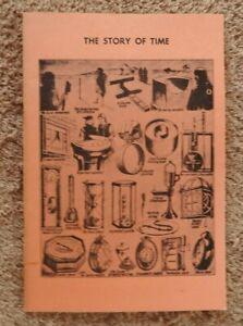 """Anleitungen 1961 """" Mr.barney Meister Horologist """" Tasche Uhren 59er St New York City Minty"""