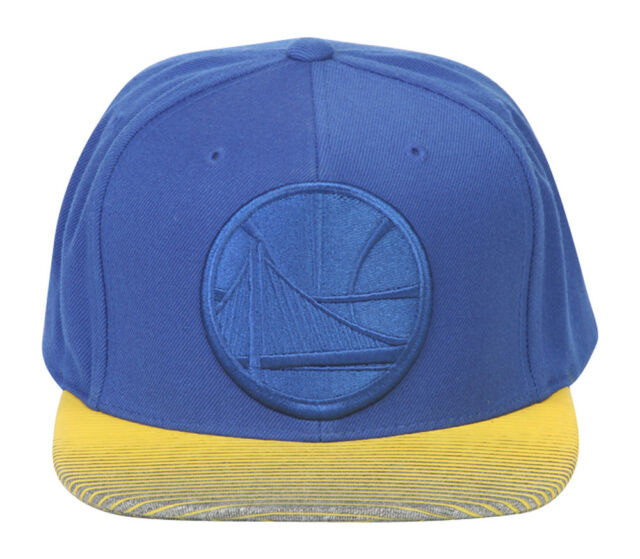 3641d8246 Golden State Warriors Cap Mitchell & Ness Snapback NBA Team Colors ...