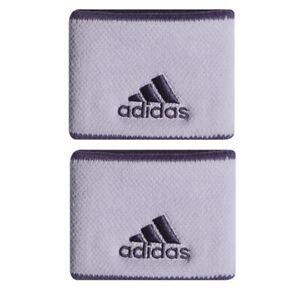 Mono servidor Admirable  adidas Tennis Wristbands S Sports Badminton Sweatband Purple 2 PCS FK0909 |  eBay