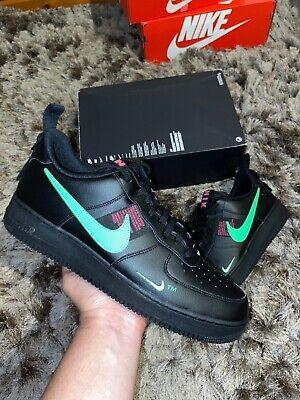 "Nike Air Force 1 LV8 Utility UK 13 ""BlackScream Green Hyper Pink</p>                     </div>   <!--bof Product URL --> <!--eof Product URL --> <!--bof Quantity Discounts table --> <!--eof Quantity Discounts table --> </div>                        </dd> <dt class="