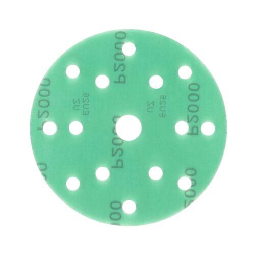 150 mm Schleifscheiben P60-2000 Exzenter Schleifpapier Klett haft grün  20 STÜCK