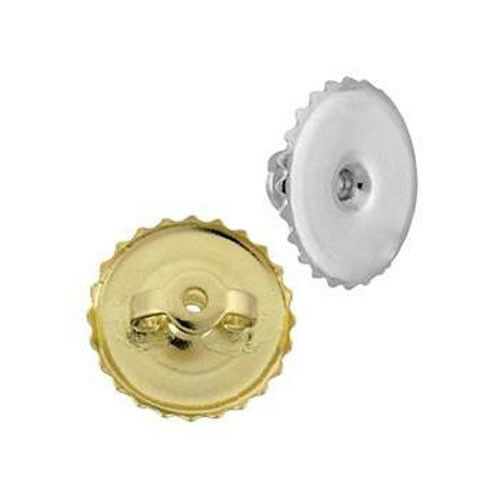 14k Yellow Gold Extra Large 9mm Back Replacement Ear Nut Earring Backs Ebay