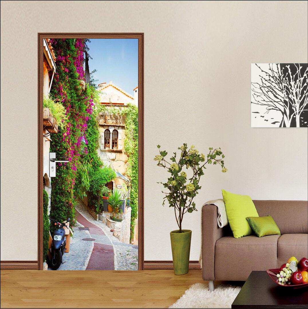 3D Straße 7 Tür Wandmalerei Wandaufkleber Aufkleber AJ WALLPAPER DE Kyra  | Modisch  | Gewinnen Sie das Lob der Kunden  | Leicht zu reinigende Oberfläche