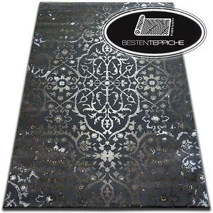 Exklusive Weicher Teppich Dunkelgrau Vogue Qualitat Teppiche