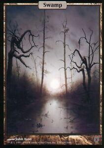 Swamp-Presque-comme-neuf-Unhinged-magic-mtg