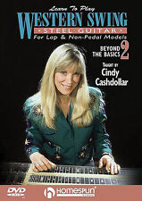Learn How To Play The Western Swing Steel Guitar DVD 2 LAP & NON PEDAL TAB MUSIC