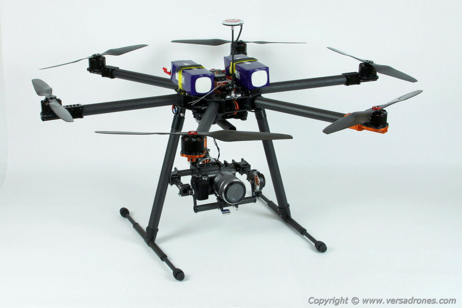 HEXACOPTER DRONE- heavy lift FLYING TIME OVER 30 min