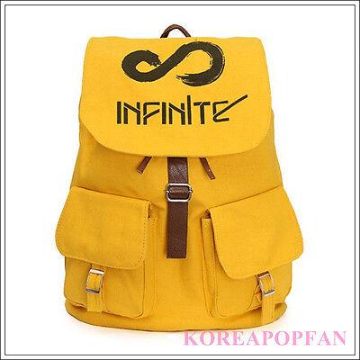 Infinite KPOP Inspirit CANVAS SCHOOL BAG BACKPACK NEW