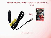 Car Power Adapter For Brinkmann Qbeam Led Night Vision Spotlight Battery Charger