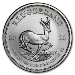 AFRIQUE-DU-SUD-Argent-1-Once-Krugerrand-2020