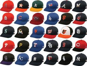 MLB-Replica-Adult-Baseball-Cap-Various-Team-Trucker-Hat-Adjustable-MLB-Licensed