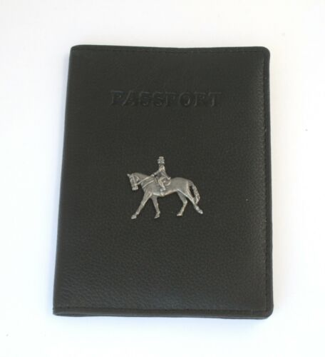 Horse Dressage Real Leather Passport Holder Horse Riding Gift 182
