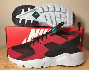 98d51efee029 Nike Air Huarache Run Ultra Sz. 10 Gym Red clear Jade Men s New ...